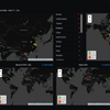 Firewall / Security Dashboard (Maps only)