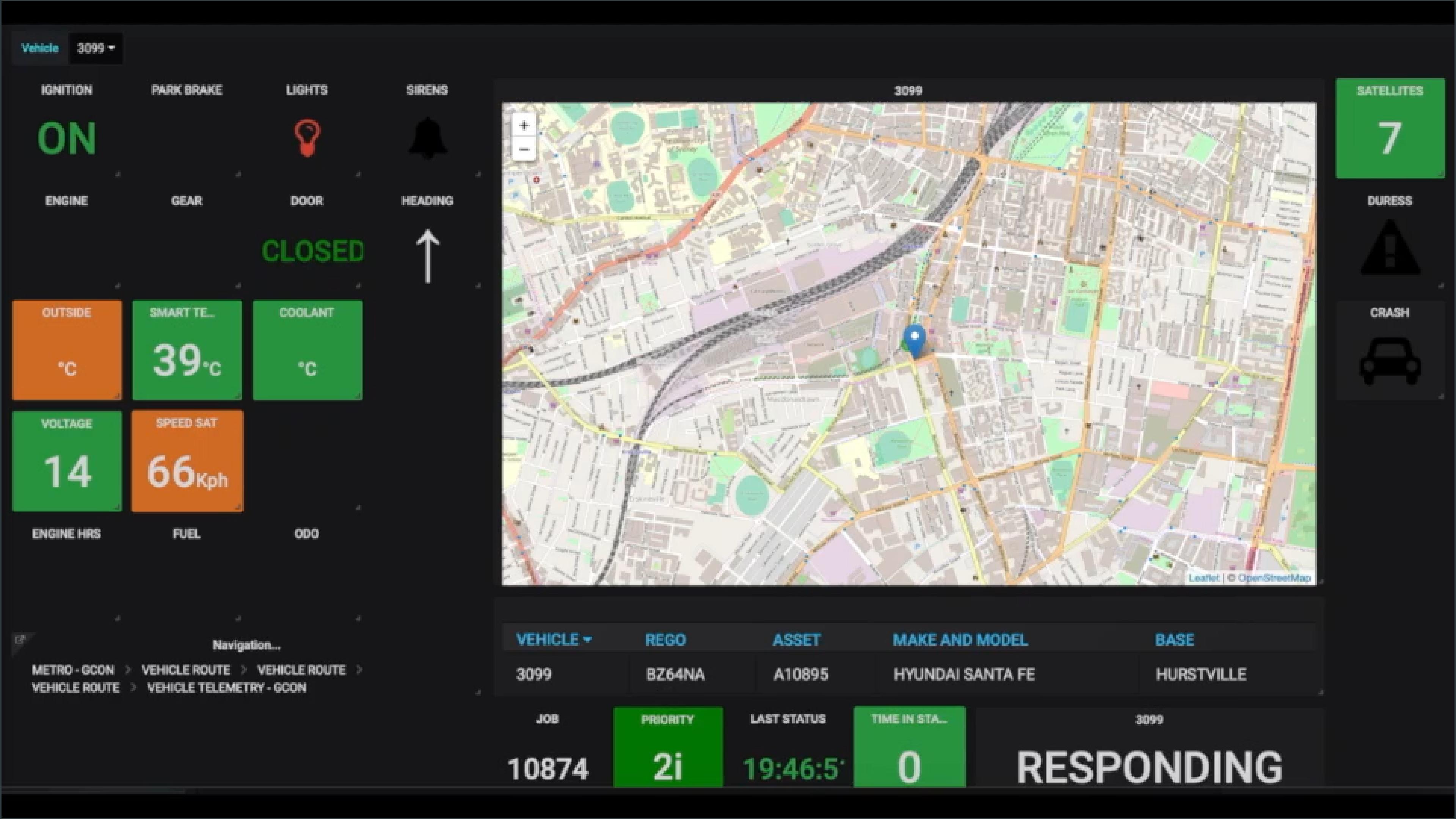 EMS Vehicle Tracker