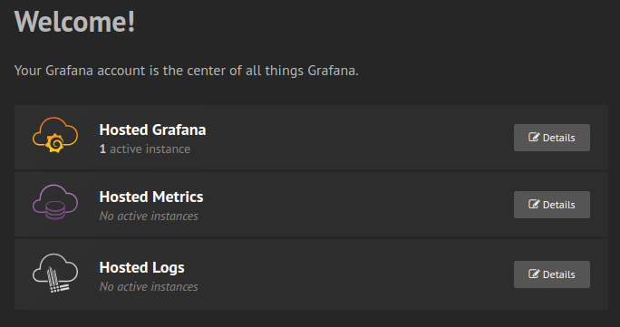 Grafana.com Login