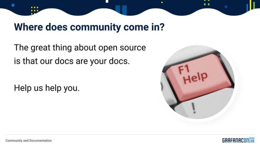 Community and documentation