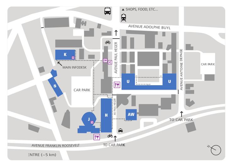 FOSDEM Venue Map
