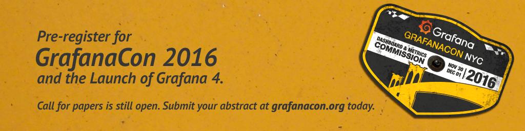 GrafanaCon 2016