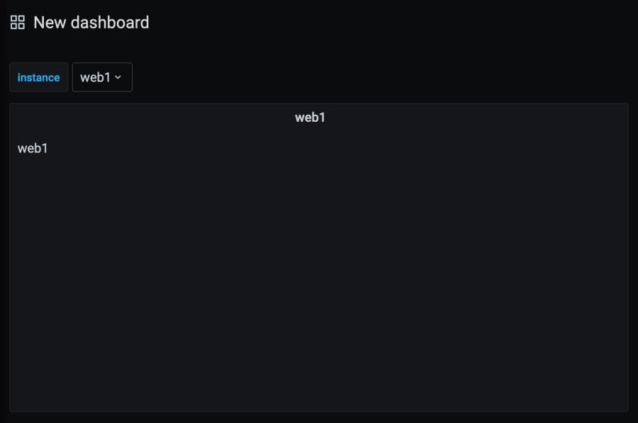 Create panel