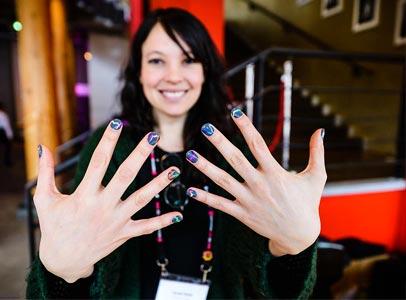 Jacqui's Graph Fingernails