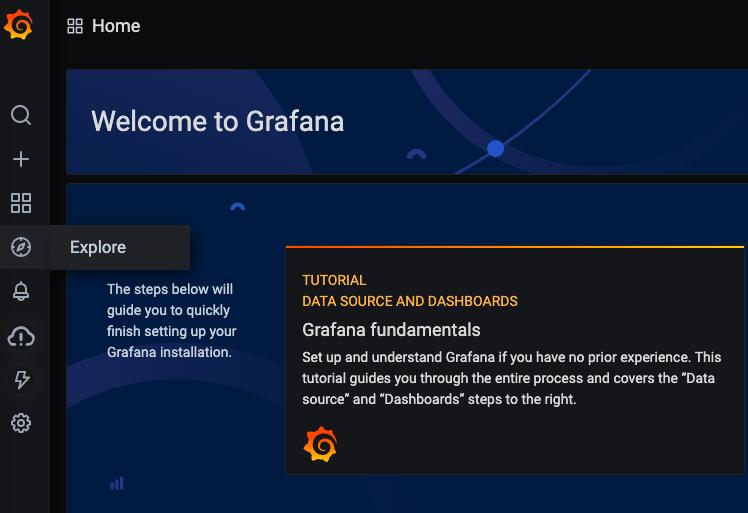 Grafana Explore Icon