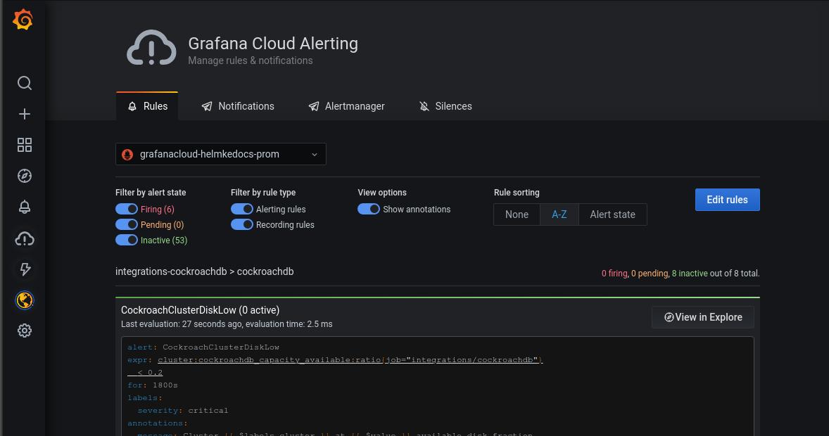 Grafana Cloud Alerting