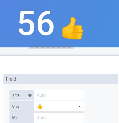 Custom unit emoji
