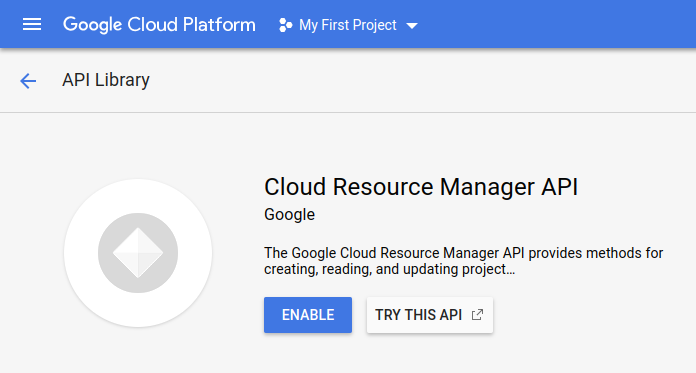 Enable GCP APIs